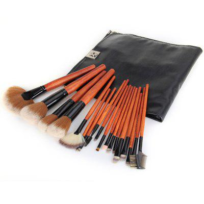 18Pcs Professional  Makeup Brushes Cosmetic Face Powder Brush Set