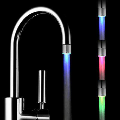 RC - F04 Color Changing Water Stream LED Faucet Light for Bathroom Kitchen