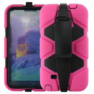 Novelty PC and Silicone Material Back Cover Case for Samsung Galaxy Note 4 N9100