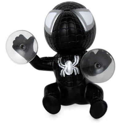 12cm Spider Doll Window Sucker Climbing Spiderman Toy
