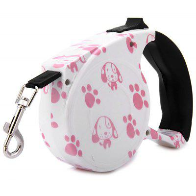16.5 Feet Dogs Cats Collars Lead Retractable Leash Pet Automatic Traction Rope