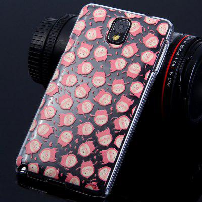 Fashionable PC Material Kobito - Dukan Pattern Transparent Back Case Cover