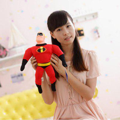 Cool 15.7 inch Mr. Incredible Bob Parr Stuffed Toy  The Avengers Plush Toy for Christmas Gift