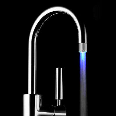 RC - F01 Blue Water Stream LED Faucet Light for Bathroom Kitchen