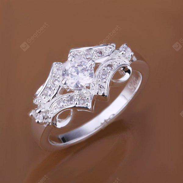 Artificial Diamond Belt Shape Ring