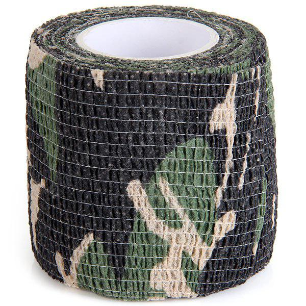 1PC Outdoor Wrap Rifle Props 4.5m Camouflage Stealth Tape Soldier Military Necessary