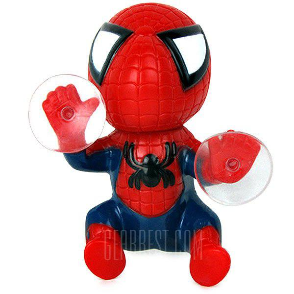 Image result for 12cm Spider Doll Window Sucker Climbing Spiderman Toy Car Home Ornaments
