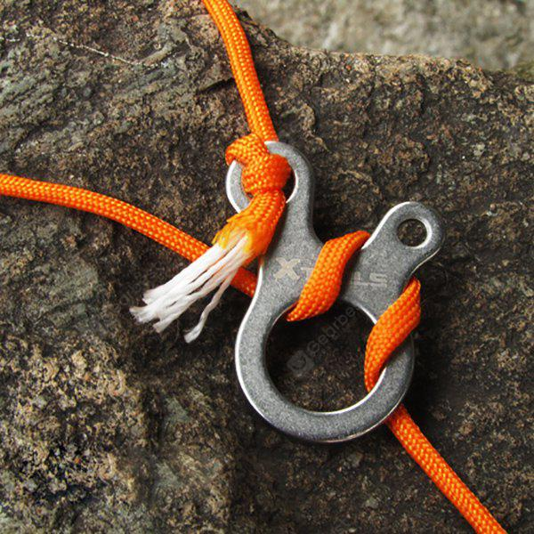 3 Hole Veloce Knot Rope Buckle Outdoor Hiking Campeggio Climbing Necessario