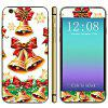 Anti - scratch Phone Full Body Sticker Decal Skin with Bell Bowknot Style for iPhone 6  -  4.7 inches