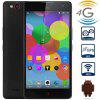 Nubia Z7 MAX Android 5.1 4G Phablet with 5.5 inch FHD IPS Screen MSM8974 2.5GHz Quad Core 2GB RAM 32GB ROM WiFi GPS NFC Gesture Sensing Dual Cameras - BLACK