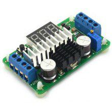 DC - DC Boost Converter Adjustable LTC1871 Step Up Module with Dual Red LED Display Voltameter ( 3.5 - 30V / 100W )