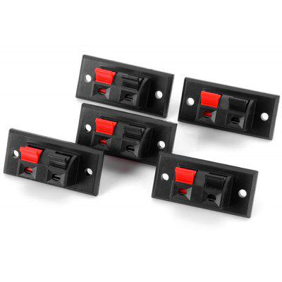 Buy BLACK WP2 2 Practical DIY PA66 Binding Post Terminal Block for Electronic Components 5PCS for $1.27 in GearBest store