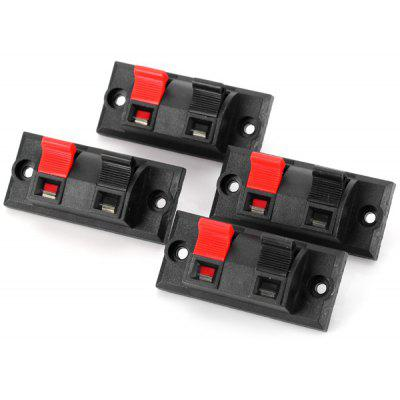 WP2 - 3 Practical DIY PA66 Terminal Block Binding Post for Electronic Components  -  4PCS