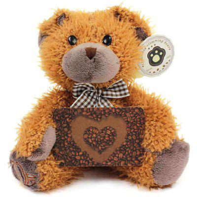 Columbia Coffee Beans Teddy Bear Plush Toy