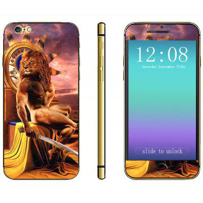 Novelty Lion Man Pattern Phone Decal Skin Protective Full Body Sticker  -  Virgo