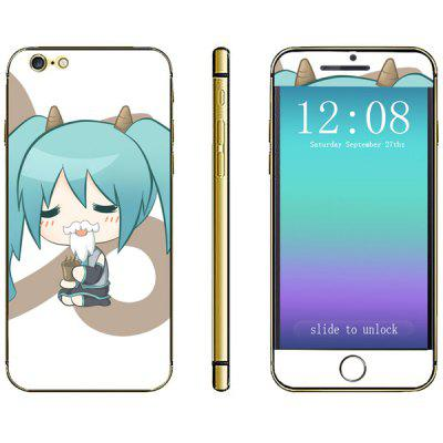 Novelty Girl Pattern Phone Decal Skin Protective Full Body Sticker  -  Virgo