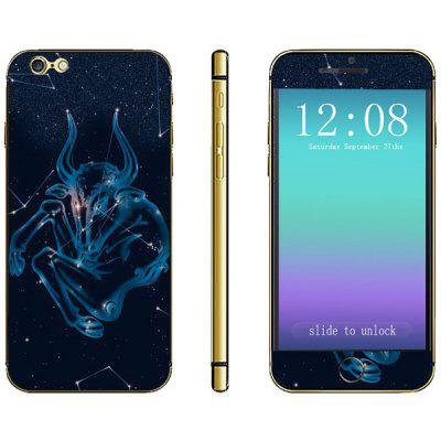 Novelty Constellation Pattern Phone Decal Skin Protective Full Body Sticker  -  Taurus