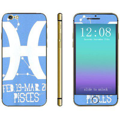 Novelty Constellation Pattern Phone Decal Skin Protective Full Body Sticker  -  Libra