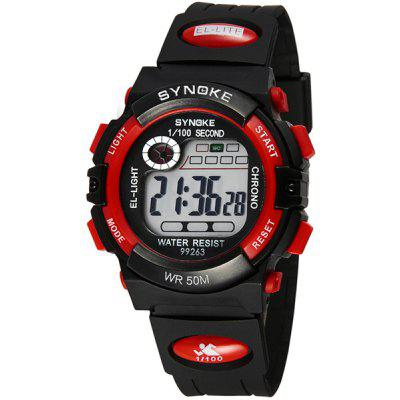Synoke 99263 LED Digital Sports Watch 5ATM Water Resistant ...