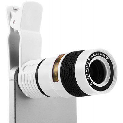 8X Optical Magnification Mini Single Tube Telescope