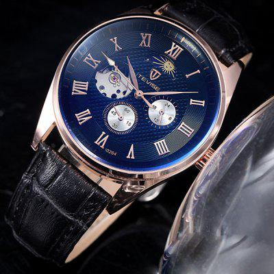 Tevise 0264 Automatic Mechanical Watch Phases of the Moon