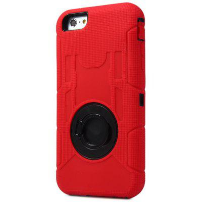 Silicone and PC Back Cover Case for iPhone 6 Plus - 5.5 inches
