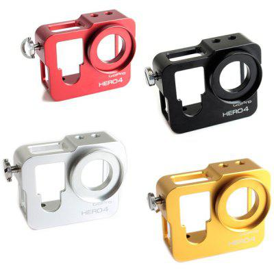 GP298 Protective Camera Frame with Aluminum Alloy Material for GoPro Hero 3+ / 4
