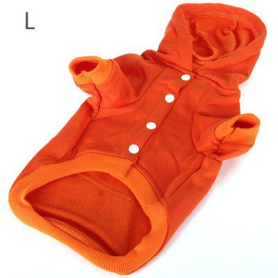 Winter Warm Dog Hoodie Fleece Cloth