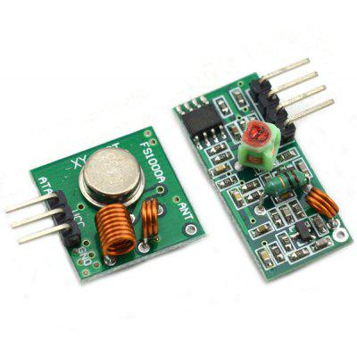 Arduino ARM MCU WL Compatible Wireless 433MHz RF Transmitter Receiver Module Set