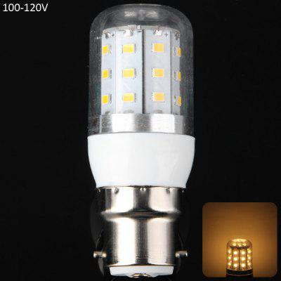 B22 8W 30 x SMD 2835 3000  -  3200K 750LM 100  -  120V LED Corn Bulb with Clear Shell