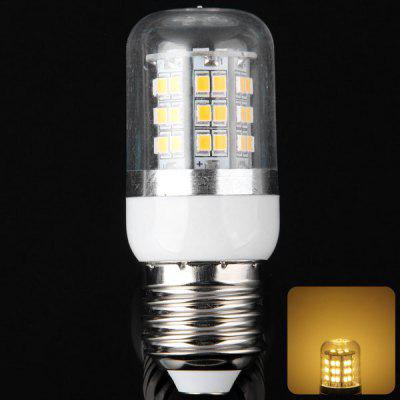 E27 10W 48 x SMD 2835 3000  -  3200K 900LM LED Corn Light Bulb with Clear Sheating
