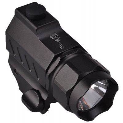 SingFire SF - P02 350Lm Cree XPG R5 3 Modes LED Gun Pistol Torch  -  1 x CR2 Battery