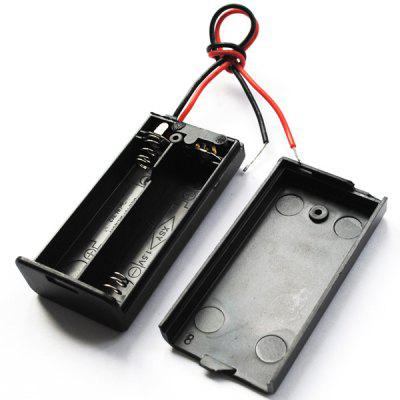 AA Battery Holder Case for 2 Slots On / Off Switch External Power Source Box