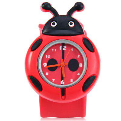 Купить со скидкой Children Quartz Pat Watch Rubber Strap with Cartoon Pattern