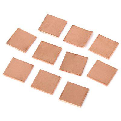 M0068 Multifunctional DIY Cooling Heatsink Copper Pad Shims Compatible with HP DV2000 DV3000 DV9000  -  10PCS