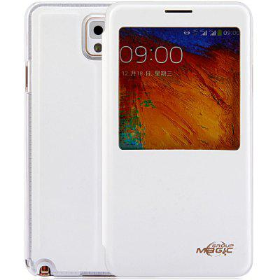 PC and PU Material NFC Intellisense Luminous Cover Case for Samsung Galaxy Note 3 N9000
