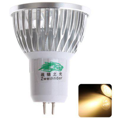 Zweihnder 3W 3  -  LEDs MR16 280 Lumens Warm White Spot Bulb 3000  -  3500K Indoor Lamp