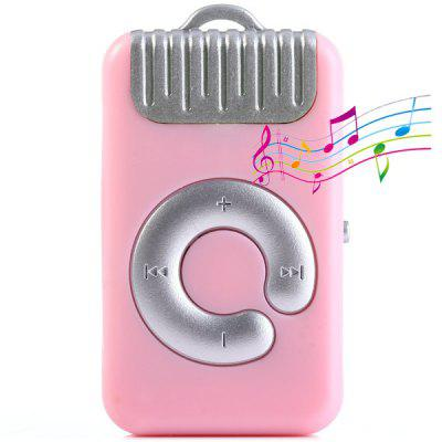 Portable Handbag Style MP3 Player with Universal 3.5mm Jack Support TF Card Mini USB Interface