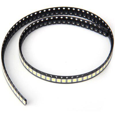 100 PCS of SMD  -  3528 7LM 6000  -  6500K LED Light Emitting Diode  -  40cm White Light