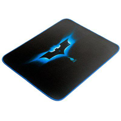 Practical Anti  -  skid Huge Mice Pad Mat with Blue Bat Pattern Design for Desktop Laptop