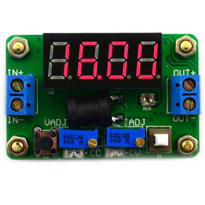 4 Digital Red LED Display Constant Voltage and Current Buck Module ( DC 4.5  -  24V to DC 0.9  -  20V )