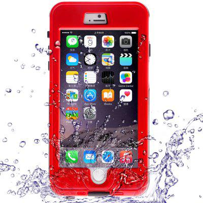 Link Dream Practical Transparent Waterproof PC and TPE Protective Case for iPhone 6 Plus  -  5.5 inches