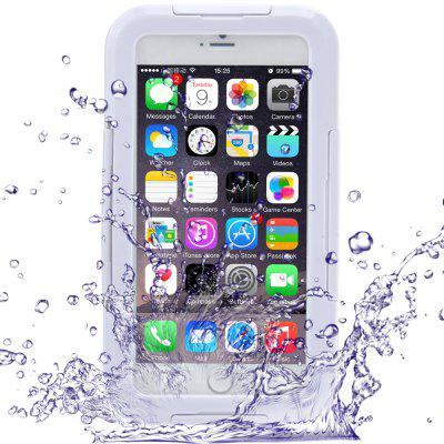 Link Dream Transparent Waterproof PC and Silicone Protective Case with Stand for iPhone 6 Plus  -  5.5 inches