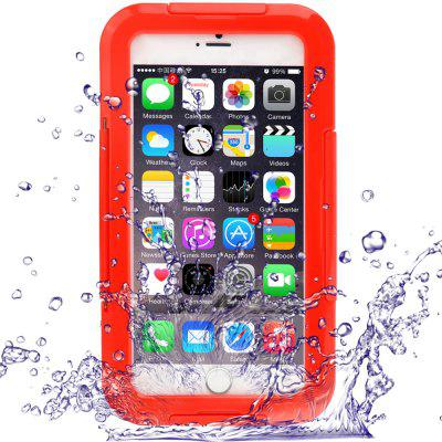 Link Dream Silicone and PC Waterproof Cover Case for iPhone 6 Plus - 5.5 inches