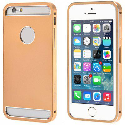Link Dream Aluminium Alloy Material Hollow Back Design Protective Case for iPhone 6  -  4.7 inches