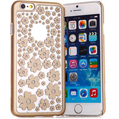 Stylish Empaistic Many Flowers Pattern Plastic Back Case Cover for iPhone 6  -  4.7 inches