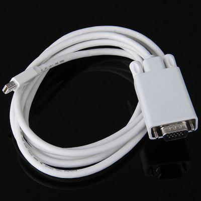 CY TB - 014 1080p Thunderbolt V1.0 Male to VGA Male Monitor / Projector Conversion Cable