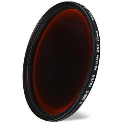DEBO 77mm Diameter Camera ND - X Filter Lens