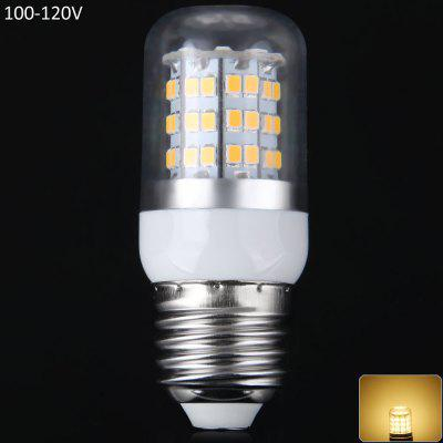 12W E27 SMD  -  2835 60 LEDs 1100Lm LED Corn Lamp Silver Edged Bulb 100  -  120V 3000  -  3200K