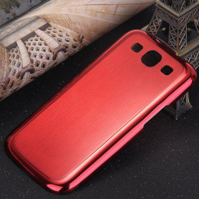 Brushed Design Back Cover Case with Solid Color for Samsung Galaxy S3 i9300